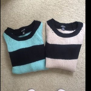 2 Wet Seal Sweaters